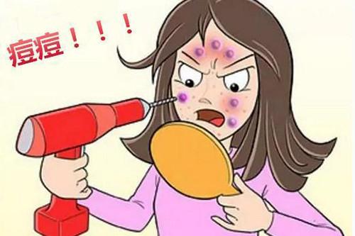 干敏肌竟然也会起痘痘?不是说油敏肌才会爆痘的吗?